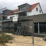 Dorfladen Außenansicht Bauphase 03